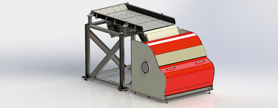 optical sorter, CCD Sorter, Farbsortierung, Sorting by Colour, Recycling