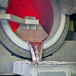 Melt ready packages, foundry, Alu Schmelze, Aluminiumrecycling